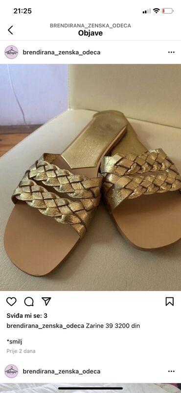 Zara papuce br 39