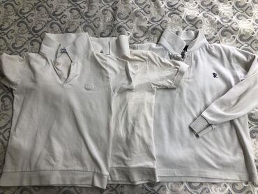 Школьные ХБ рубашки все три за 300 сом На мальчика 7-ми лет