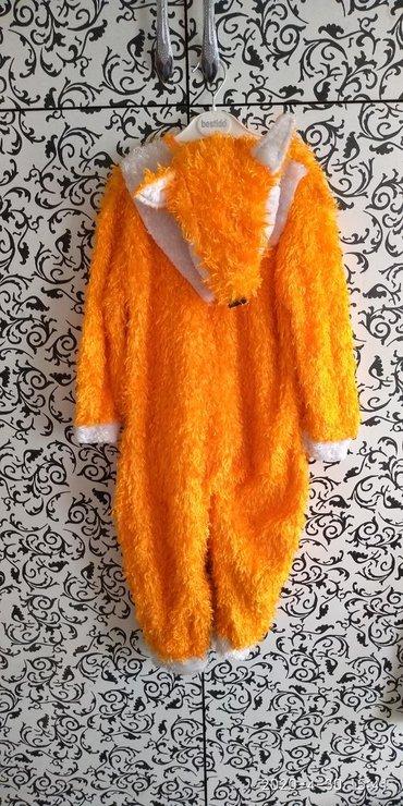 Верхняя одежда в Сокулук: Продаю новогодний костюм лисичка. Возраст на 3-4 года