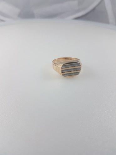 Печатка 22.0 размер кольца. 585 проба красное золото.россия в Бишкек