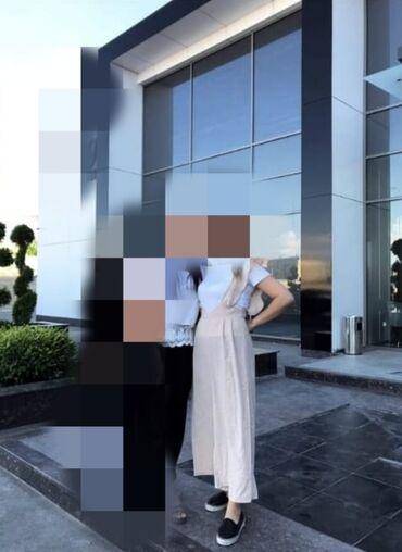 женское платье размер м в Кыргызстан: Продаю комбез 450сом окончательно размер М