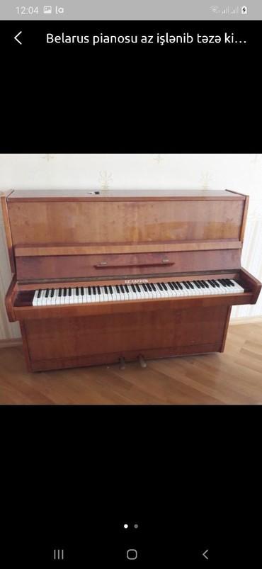 belarus piano - Azərbaycan: Belarus piano təzə kimidi