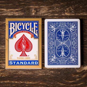Настольные игры - Бишкек: Продаю Bicycle standart, Tally Ho оригинал, есть синие и красные колод