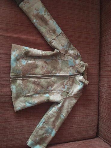 Jakna postavljena jesenja - Srbija: Decija jakna za devojcice, jesenja, skoro kao nova, postavljena