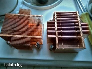 Медный радиатор, пасивный 775lga 100 сом без подножки в Бишкек