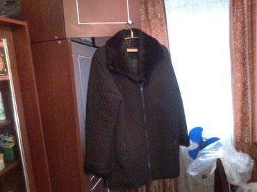 Длинная куртка, черного цвета, в Бишкек