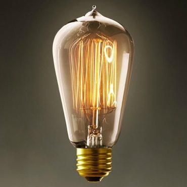Лампа Эдисона. 40W. Форма - груша