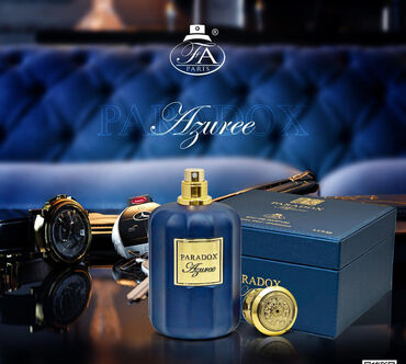 - Azərbaycan: Paradox Azuree Eau De Parfum by French Avenue Paris FA for Men Natural