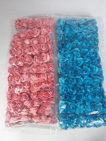 Открытки - Бишкек: Продаю бумажные цветочки для декора. Для рукоделия и украшения