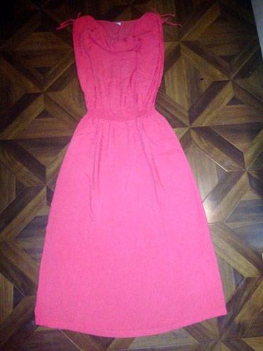 Продаю платье с карманами по в Бишкек