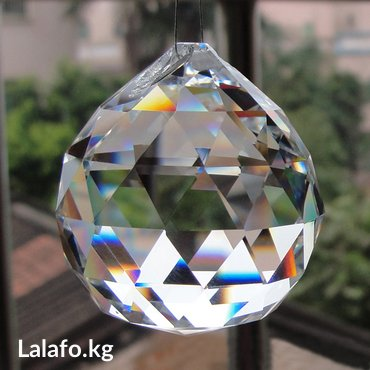 Прозрачный шаровидный кристалл К 9 для в Бишкек