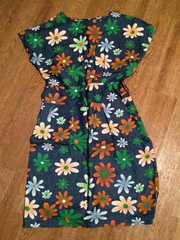 Суперское платье, плотное х/б, р44-46, в Бишкек
