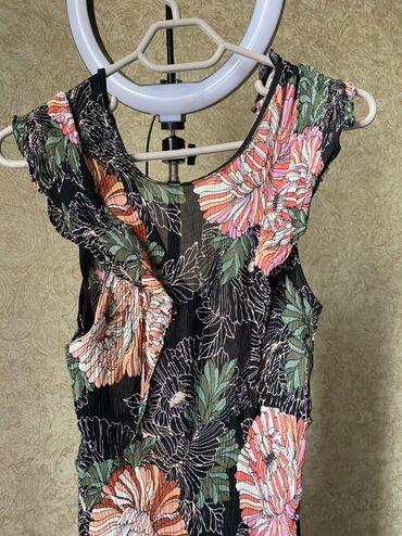 Личные вещи - Бактуу-Долоноту: Лёгкое платье от Zara womenфранцузская длина, состояние:10/10, размер