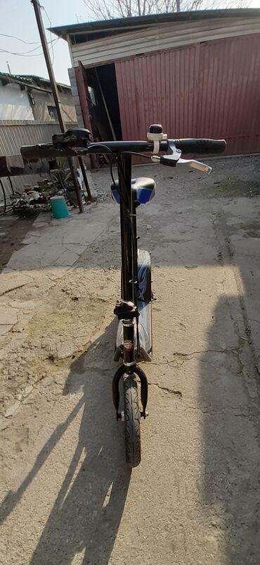 электросамокаиы в Кыргызстан: Продаю Электросамокат.Стоит новое мотор колесо 500 watt 12 дюймов