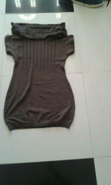 Strikana haljina novo braon boja novo sve velicine - Backa Palanka