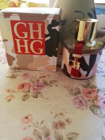 Carolina Herrera CH Afrika parfem je kopija iz Turske i nov je. - Pancevo