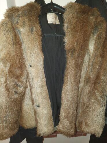 Pocepkane farmerke br - Srbija: Nova zarina bunda. Vel S alo je siri model,moze odgovarati i M