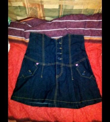Suknje - Srbija: Teksas Terranova suknja, S velicine. Nova