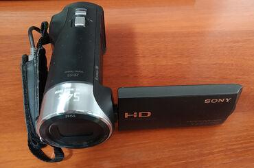 Видеокамера Sony HDR-CX240. + карта 32GB - Class 10, коробка, кабель