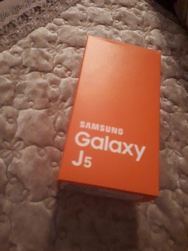 Sumqayıt şəhərində Samsung j5 2016 yaxwi veziyyetdedir cizigi zedesi yoxdur sadece ekran
