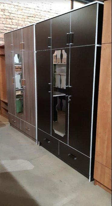 шкаф-3 в Кыргызстан: Шкаф с зеркалом 3 дверный Высота 2,15Ширина 1,28Глубина 52Доставка по