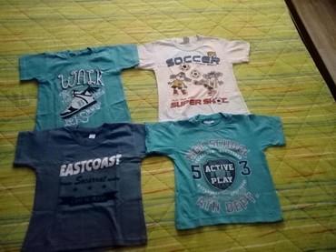 Dečiji Topići I Majice | Obrenovac: Polovne,ocuvane majice za decake,4god.Cena 150 po komadu.Kontakt