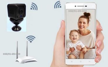 WiFi IP Mini kamera - HD kamera malih dimenzija - Model MINI 10 - Pancevo