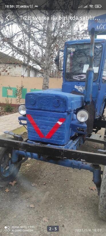 Трактор юто 404 - Азербайджан: Sıvarka ilə birlikdə satılır işlək vəziyyətdədir problem yoxdur real a