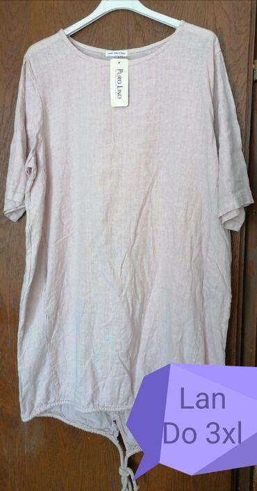 Haljine | Vladicin Han: Haljina/tunika dugih rukava Cena 1550 din. Materijal lan Novo Slanje p