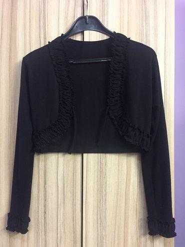 Crni-plisani-bolero - Srbija: Crni bolero od mekanog materijala sa elastinom. Univerzalna veličina