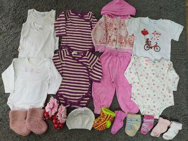 Вещи на девочку 3-6 месяцев. Район парка Ата-тюрк. Состояние хорошее