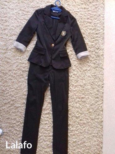 Пиджак школьный - Кыргызстан: Костюм школьный. брюки и пиджак в хорошем состоянии. 12-13 лет