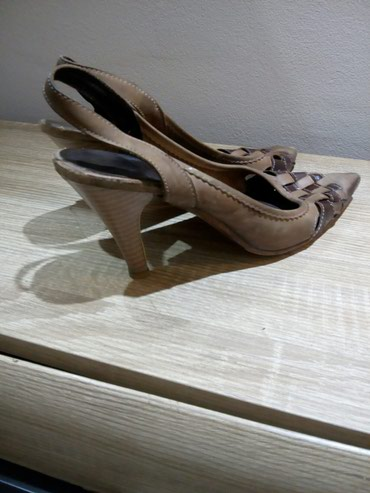 Braon kozne sandale broj pitajte - Srbija: Kozne kvalitetne sandale 37