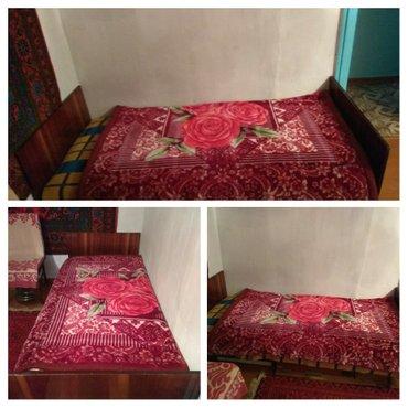 Продаю кровать с матрасом.торг.уместен в Бишкек