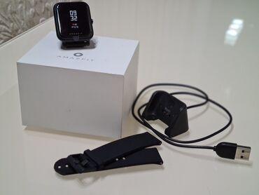 Смарт часы Amazfit BipДва ремешка. Один родной, силиконовый и второй