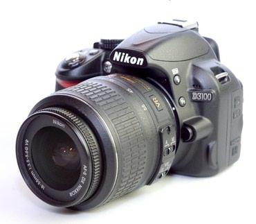 Продаю фотоаппарат nikon d3100 с объективом никон 18-55. в Бишкек