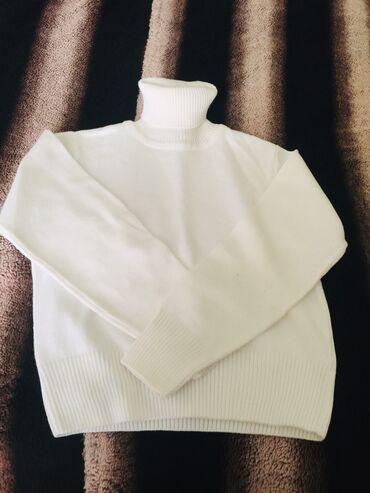 женские-белые-свитера в Азербайджан: 5-6 yaş tezedi yun vadalaska
