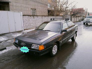 переходка в Кыргызстан: Audi 100 2.3 л. 1991