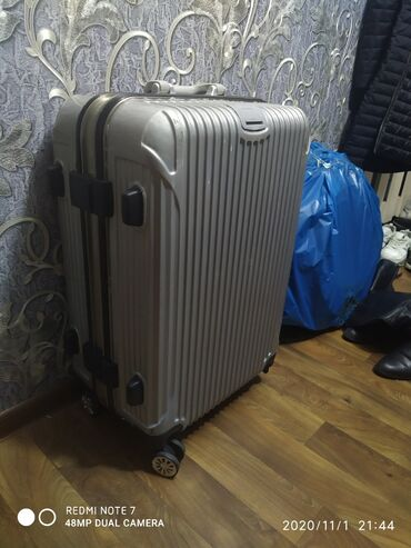 шины 205 65 r15 лето бу в Кыргызстан: Срочно!!! Продам чемодан пластик алюминий б/у в отличном состоянии!!!