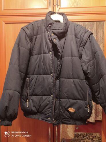 жилет мужской в Кыргызстан: Куртка стёганая зимняя мужская Размер 48-50 (М) Новая Была привезена