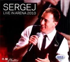 sergej live in arena nov neraspakovan - Beograd
