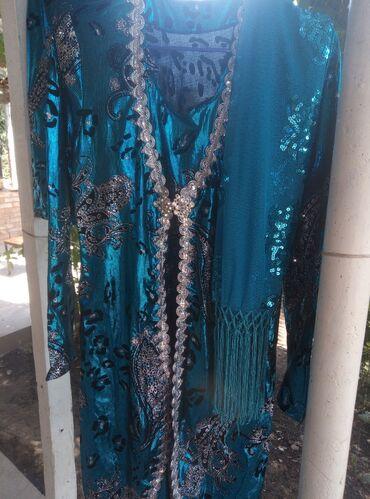 Женская одежда - Маловодное: Платье с иштаном и шарф продаю. Цена 1000сом