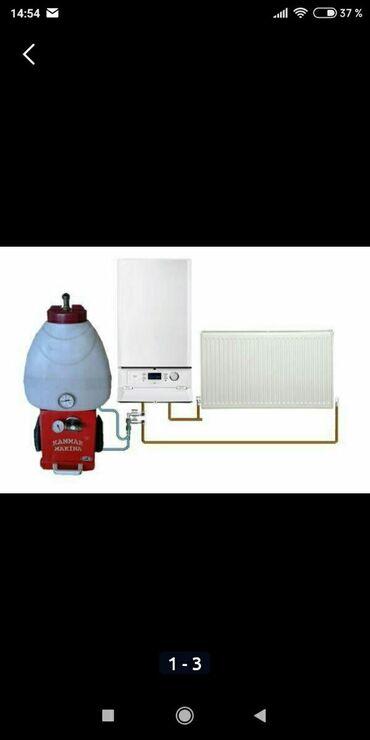 Бытовые услуги в Азербайджан: Kombi ve radiatorlarin yuyulmasi