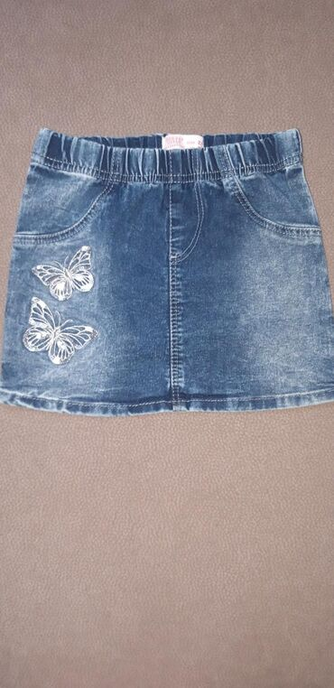 Юбка джинсовая фирменная - Gee Jay. На возраст 2-4 года (104 см). В