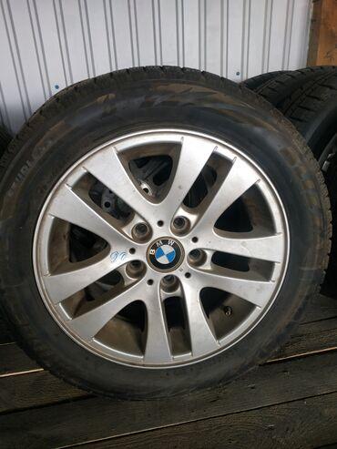 Продаю диски с шинами зима размер 205/55/16 фирма Bridgestoune в отлич