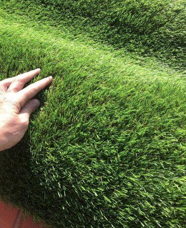 искусственная трава бишкек in Кыргызстан | ГРУЗОВЫЕ ПЕРЕВОЗКИ: Искусственный газон для футбольного поля 40 мм Высота ворса: 40 мм Мат