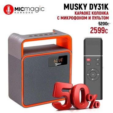 караоке в Кыргызстан: Караоке колонка с микрофоном Musky DY31KКому нужен прайс на все модели