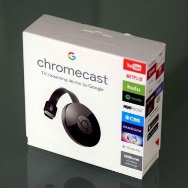 google chasy в Кыргызстан: Google Chromecast Ultra - это новая версия известного медиаплеера от