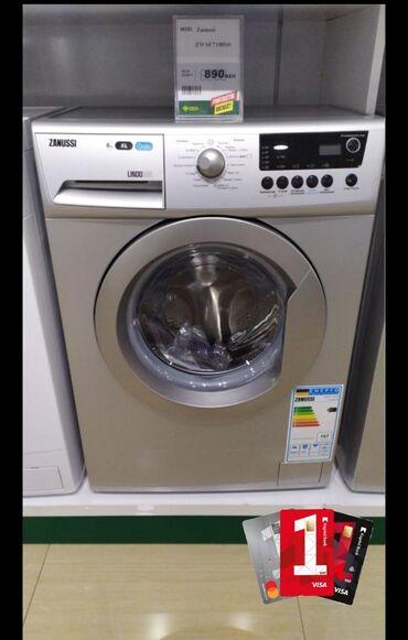 Öndən Avtomat Washing Machine Zanussi 6 kq