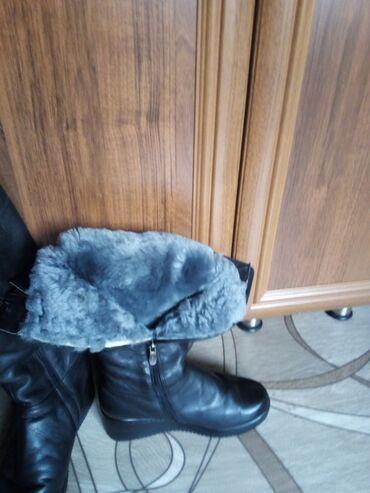 choboti 37 в Кыргызстан: Продаю зимние сапоги. Размер 37. Заводской Китай, нат. кожа